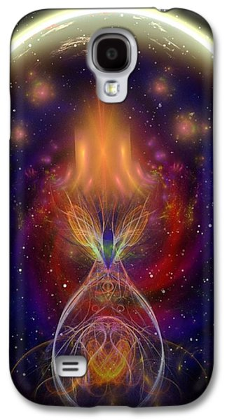 Planetary Flames Galaxy S4 Case