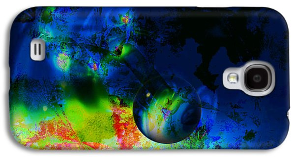 Planets Galaxy S4 Case by Contemporary Art