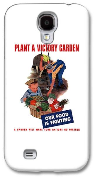 Plant A Victory Garden  Galaxy S4 Case