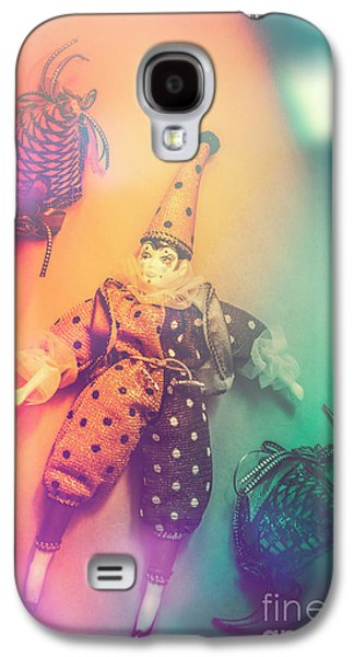 Play Act Of A Puppet Clown Performing A Sad Mime Galaxy S4 Case by Jorgo Photography - Wall Art Gallery
