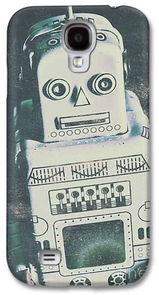 Playback The Antique Robot Galaxy S4 Case by Jorgo Photography - Wall Art Gallery