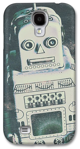 Playback The Antique Robot Galaxy S4 Case