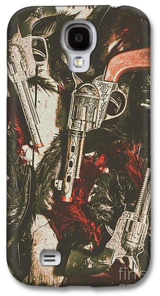 Playing Cowboys And Indians Galaxy S4 Case