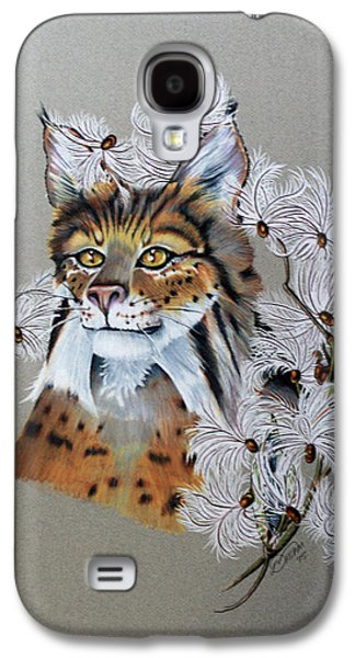 Playing In Milkweed Galaxy S4 Case by Virginia Simmons