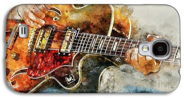 Playing The Blues Galaxy S4 Case by Jon Neidert