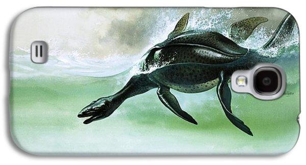 Plesiosaurus Galaxy S4 Case by William Francis Phillipps