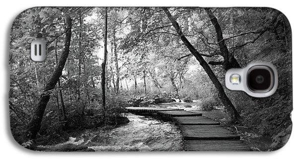 Plitvice In Black And White Galaxy S4 Case