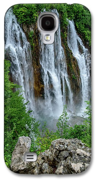 Plitvice Lakes Waterfall - A Balkan Wonder In Croatia Galaxy S4 Case