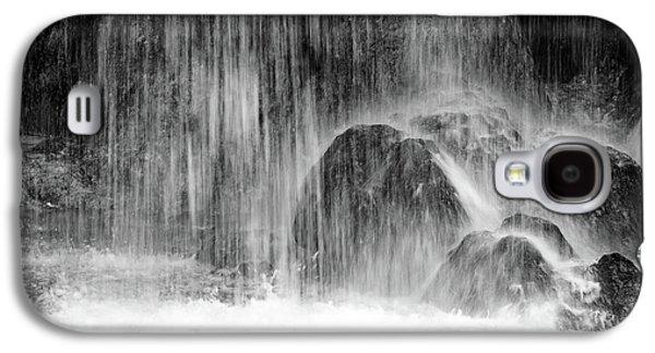 Plitvice Waterfall Black And White Closeup - Plitivice Lakes National Park, Croatia Galaxy S4 Case