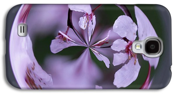 Galaxy S4 Case featuring the photograph Plum Tree Orb by Bill Barber