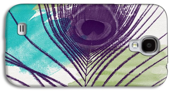 Peacock Galaxy S4 Case - Plumage 2-art By Linda Woods by Linda Woods
