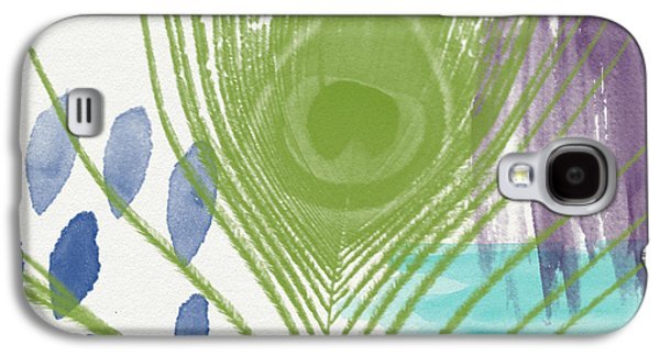 Plumage 4- Art By Linda Woods Galaxy S4 Case by Linda Woods