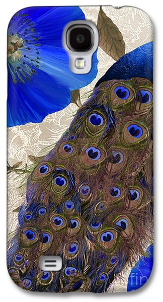 Peacock Galaxy S4 Case - Plumage by Mindy Sommers