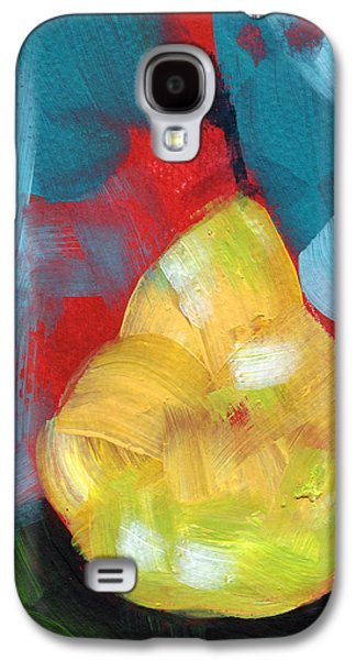 Pear Galaxy S4 Case - Plump Pear- Art By Linda Woods by Linda Woods
