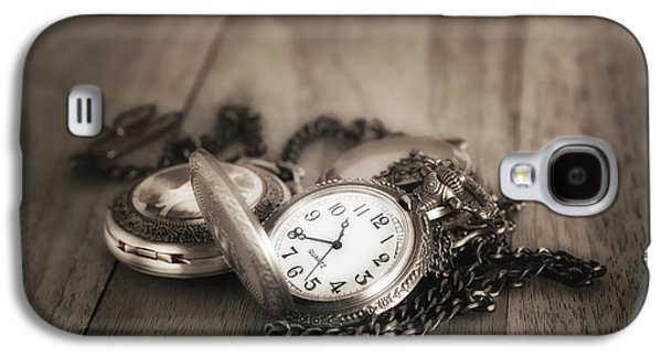 Pocket Watches Times Three Galaxy S4 Case by Tom Mc Nemar