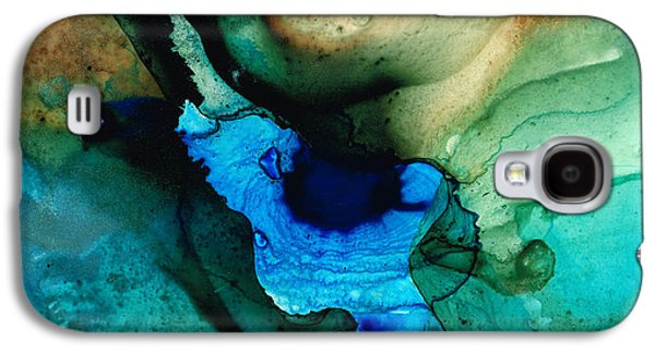 Point Of Power - Abstract Painting By Sharon Cummings Galaxy S4 Case by Sharon Cummings