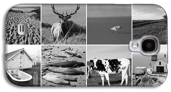 Point Reyes National Seashore 20150102 Bw Galaxy S4 Case by Home Decor