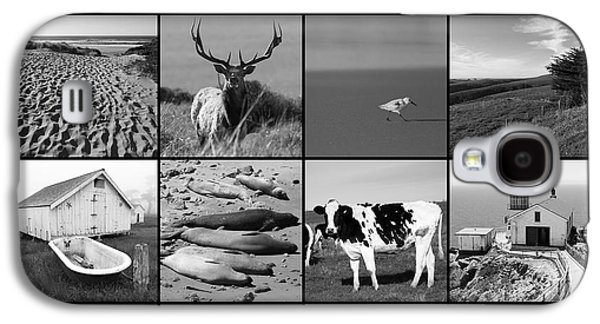 Point Reyes National Seashore 20150102 With Text Bw Galaxy S4 Case