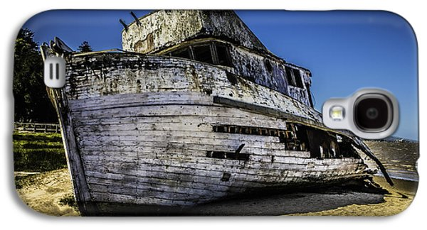Point Reyes Ship Wreck Galaxy S4 Case by Garry Gay