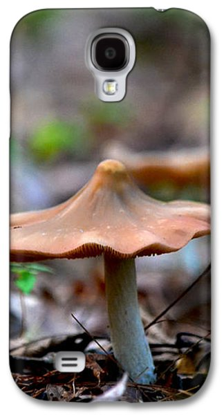 Pointy Top Mushrooms Galaxy S4 Case by Rebecca Stowers