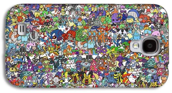 Pokemon  Galaxy S4 Case by Mark Ashkenazi