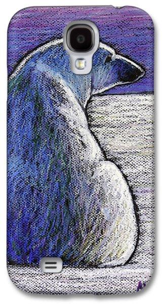 Polar Bear Backside Galaxy S4 Case