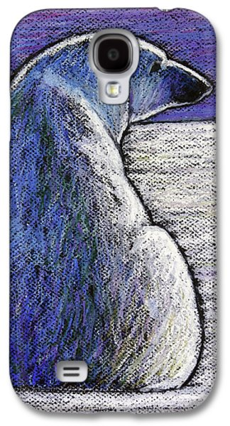 Polar Bear Backside Galaxy S4 Case by Ande Hall