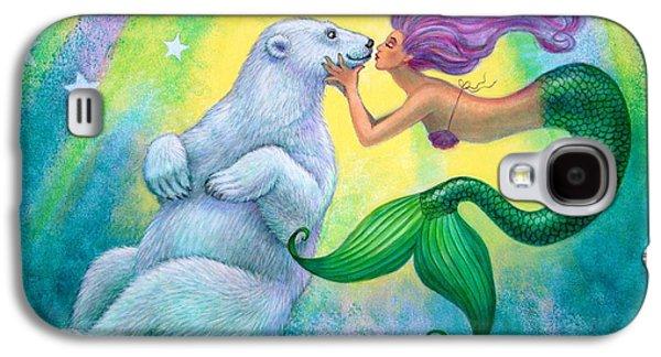 Polar Bear Kiss Galaxy S4 Case