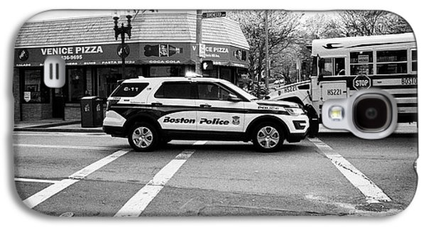 police police ford interceptor suv patrol vehicle on call Boston USA Galaxy S4 Case