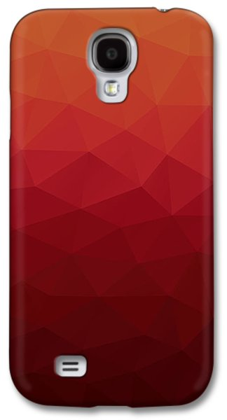 Polygon Galaxy S4 Case by Mike Taylor