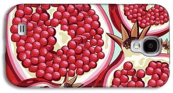 Pomegranate   Galaxy S4 Case by Mark Ashkenazi