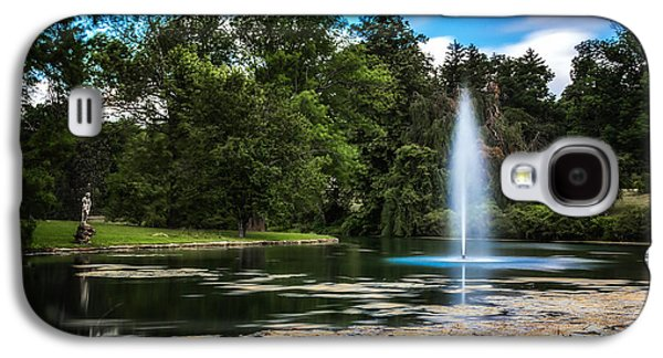 Pond At Spring Grove Galaxy S4 Case by Tom Mc Nemar