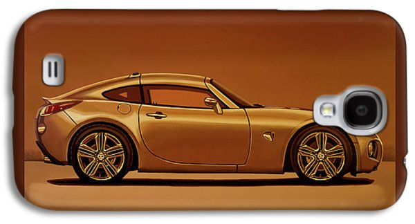 Pontiac Solstice Coupe 2009 Painting Galaxy S4 Case