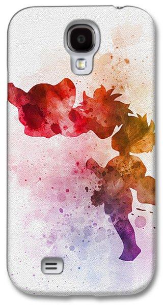 Ponyo Galaxy S4 Case by Rebecca Jenkins