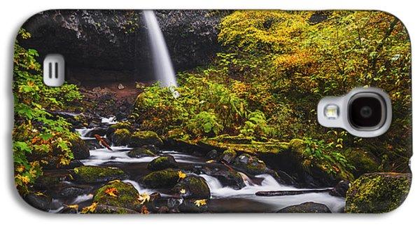 Ponytail Falls Autumn Galaxy S4 Case