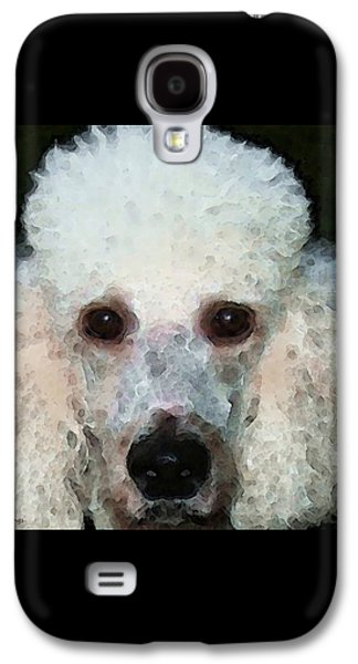 Poodle Art - Noodles Galaxy S4 Case by Sharon Cummings