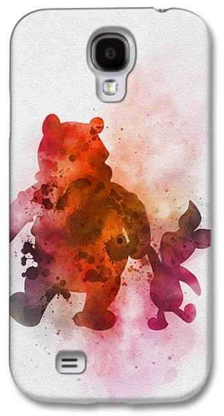 Pooh Bear Galaxy S4 Case by Rebecca Jenkins