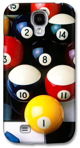 Pool Balls On Tiles Galaxy S4 Case
