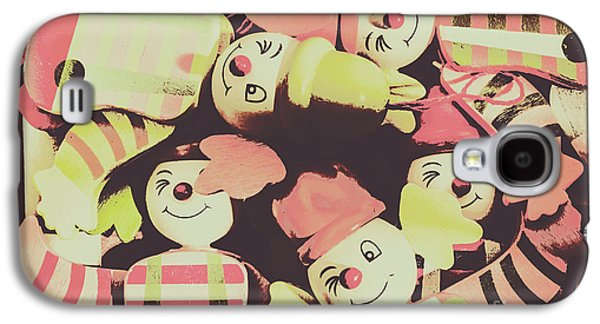 Pop Art Clown Circus Galaxy S4 Case by Jorgo Photography - Wall Art Gallery