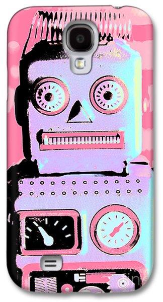 Pop Art Poster Robot Galaxy S4 Case by Jorgo Photography - Wall Art Gallery
