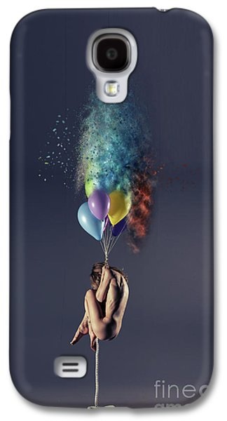 Pop Galaxy S4 Case by Nichola Denny