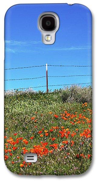 Poppy Hill- Art By Linda Woods Galaxy S4 Case