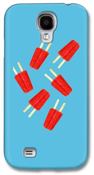 Desert Galaxy S4 Case - Popsicle T-shirt by Edward Fielding