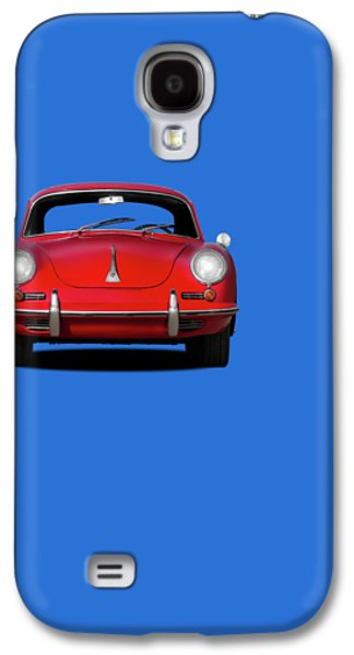 Classic Cars Photographs Galaxy S4 Cases - Porsche 356 Galaxy S4 Case by Mark Rogan