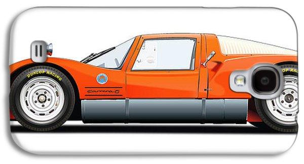 Porsche 906 Illustration Galaxy S4 Case by Alain Jamar