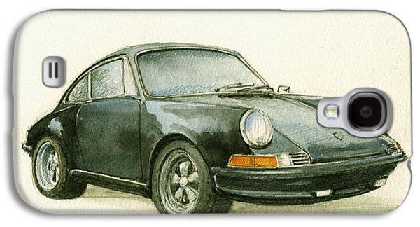 Porsche 911 Classic Car Art Galaxy S4 Case by Juan  Bosco