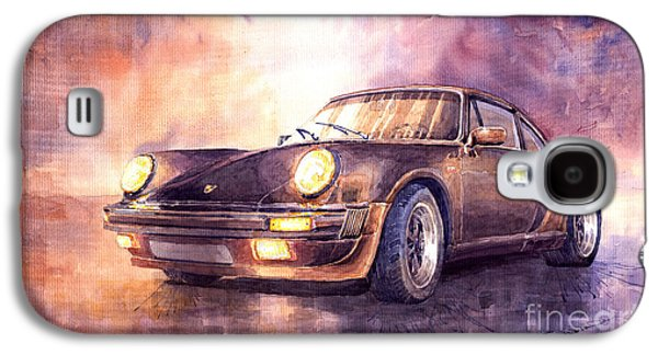 Porsche 911 Turbo 1979 Galaxy S4 Case by Yuriy  Shevchuk
