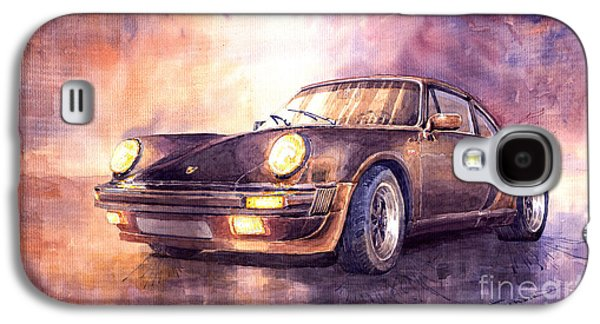 Car Galaxy S4 Case - Porsche 911 Turbo 1979 by Yuriy Shevchuk