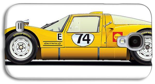 Porsche Carrera 906 Illustration Galaxy S4 Case by Alain Jamar