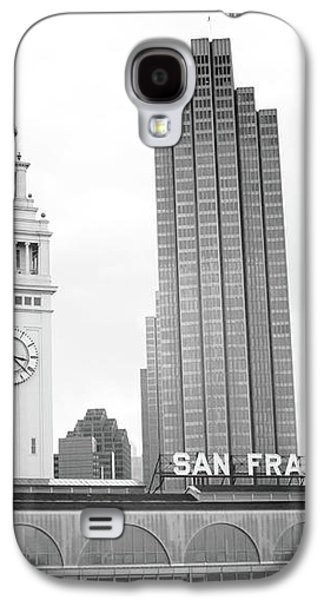 Port Of San Francisco Black And White- Art By Linda Woods Galaxy S4 Case